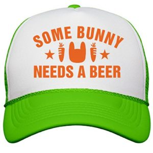 Some-Bunny-Needs-Beer-Easter-Hat-Neon-Snapback-Trucker-Hat-0