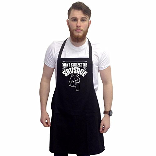 Bbq Apron Funny Aprons For Men May I Suggest Barbecue